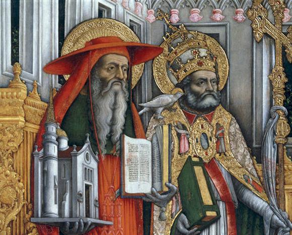 Jerome_and_Gregory 성 예로니모(왼쪽)와 성 대 그레고리오(오른쪽)_ web.jpg