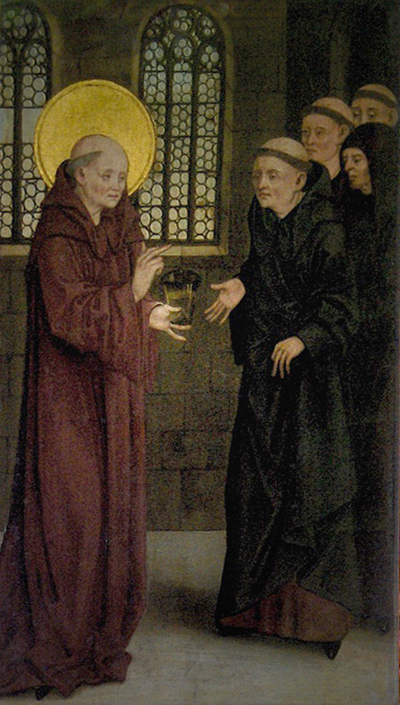 Saint Benedict and the cup of poison (Melk Abbey, Austria)-web.jpg